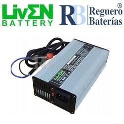 Cargador baterías 12 Voltios 10 Amperios Litio LifePO4
