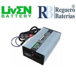 Cargador baterías 12 Voltios 20 Amperios Litio LifePO4