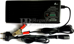 Cargador para baterias de plomo 36V 1.8 Amperios SLA, AGM