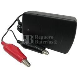 Cargador baterías 6 Voltios 0,6 Amperios Q-Batteries BL6-0.6