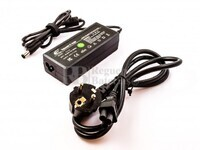 Cargador compatible para ordenadores HP/COMPAQ Laptop, 65W, 7,4 x 5,0 Con Pin Central