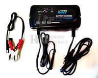 Cargador de 24 Voltios para Baterías de Plomo GEL y Ácido AGM para baterías de 4 a 80 Amperios