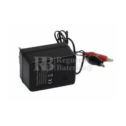 Cargador de baterías de plomo para 6 Voltios 1 Amperio Automático