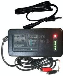 Cargador Baterías 12 Voltios hasta 80 Amperios AGM, GEL, SLA, Litio LiFePO4