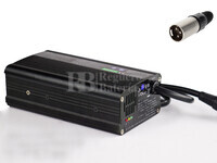 Cargador de Baterias 24 Voltios 6 Amperios para Sillas de Ruedas Electricas