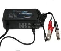 Cargador de Baterías de GEL y Acido 12 Voltios para baterías de 16 a 80 Amperios