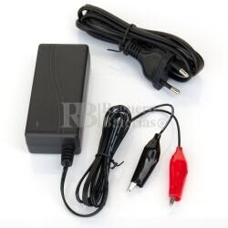 Cargador de Baterías de Plomo, (AGM) RITAR 12 Voltios, 1 amperio
