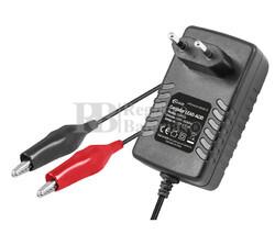 Cargador baterías de Plomo y Gel 6 y 12 Voltios