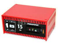 Cargador Estándar de Baterías ABSAAR 12 Voltios 15 Amperios para AGM y Plomo Ácido