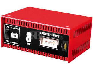 Cargador Estandar de Bater�as ABSAAR 12 Voltios 8 Amperios para AGM y Plomo Acido