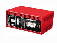 Cargador Estándar de Baterías ABSAAR para  6V Y 12 Voltios 6 Amperios para AGM y Plomo Ácido