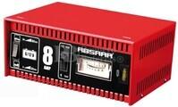 Cargador Estándar de Baterías ABSAAR para  6V y 12 Voltios 8 Amperios para AGM y Plomo Ácido