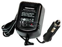 Cargador Mantenedor de Baterías ABSAAR 12 Voltios 0,72 Amperios para GEL, AGM y Plomo Ácido