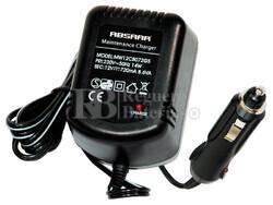 Cargador Mantenedor de Bater�as ABSAAR 12 Voltios 0,72 Amperios para GEL, AGM y Plomo Acido