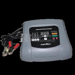 Cargador Mantenedor baterías de 6 y 12V, 2,6 y 10A