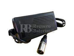 Cargador para baterías de Sillas de Ruedas Eléctricas 24 Voltios 2 Amperios