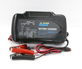 Cargador para Baterias de Gel y Acido 12 Voltios para baterias de 60 a 300Ah