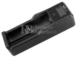 Cargador baterías 18650 Li-Ion,LiFePO4,Ni-Mh,Ni-Cd