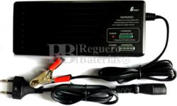 Cargador baterías de plomo 24 Voltios 2.8 Amperios SLA, AGM