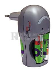 Cargador para baterías recargables AA y AAA Ni-Cd / Ni-MH Fullwat FUCE007