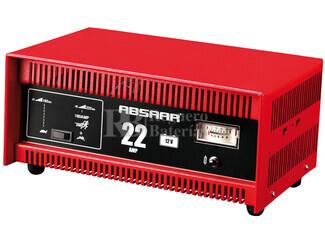Cargador Profesional de Baterías ABSAAR 12 Voltios 22 Amperios para AGM y Plomo Acido