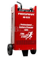 Cargador Profesional de Baterías ABSAAR para 12V y 24 Voltios 30 Amperios para AGM y Plomo Ácido
