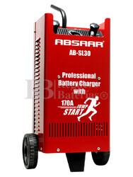 Cargador Profesional de Baterías ABSAAR para 12V y 24 Voltios 30 Amperios para AGM y Plomo Acido