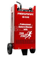 Cargador Profesional de Baterías ABSAAR para 12V y 24 Voltios 40 Amperios para AGM y Plomo Ácido