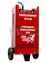 Cargador Profesional de Baterías ABSAAR para 12V y 24 Voltios 40 Amperios para AGM y Plomo Acido
