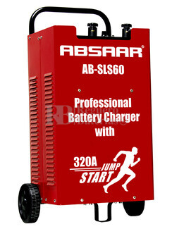 Cargador Profesional de Bater�as ABSAAR para 12V y 24 Voltios 60 Amperios para AGM y Plomo Acido