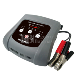 Cargador baterías 6V 12V 2-6 Amperios Gel Agm
