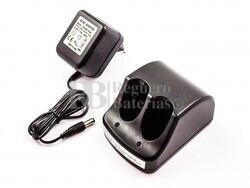 Cargador Universal Estandar para baterias Black&Decker de Maquinaria 3,6V NI-CD, NI-MH