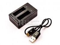 Cargador Usb para GoPro BT-401. Incluye cable Usb.