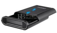 Cargador y Powerbank para 4 baterías de litio INR18650