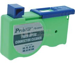 Cinta de limpieza para conectores de fibra óptica Proskit FB-C010