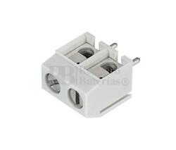 Clema componible para circuito impreso 2 Contactos