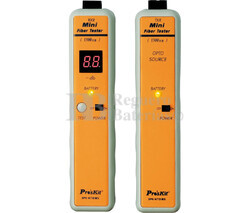 Comprobador de cables SC de fibra óptica Proskit 3PK-NT018S-SC