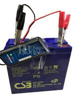 Comprobador de Carga de Baterías y Alternador