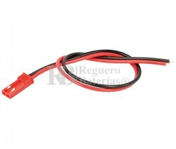 Conector aéreo BEG hembra 2 Pines paso 2.5mm