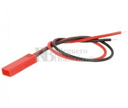 Conector aéreo BEG macho 2 Pines paso 2.5mm
