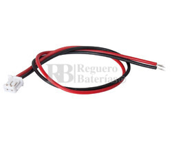 Conector aéreo hembra 2 Pines paso 1.8mm