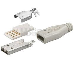 Conector USB-A macho