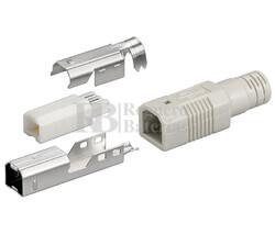 Conector USB-B macho