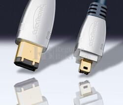 Conexión Clicktronic PC-Portátil/VCR-Cámara-MP3 2.5 metros