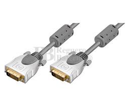 Conexión DVI-D macho a DVI-D macho (24+1 Pin) 1.5 metros