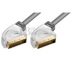 Conexión Euro-Euro VCR-DVD-Hifi/TFT-LCD-Plasma 2.5 metros