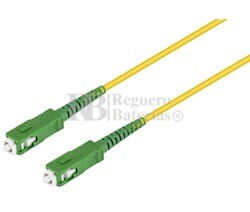 Conexión fibra óptica datos SC-SC, monomodo simplex 40.0m