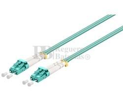 Conexión fibra óptica para datos LC/LC,multimodo dúplex,0.5m