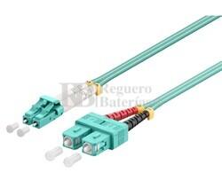 Conexión fibra óptica para datos LC/SC, multimodo dúplex, 1m