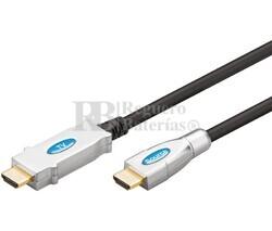 Conexión HDMI macho - macho con amplificador integrado 30.0m